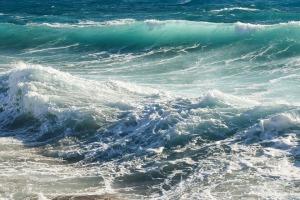 Rough Sea Waves Seascape Wind Sea Nature